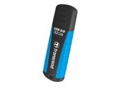 Transcend 32GB JetFlash 810, USB 3.1 (Gen 1) flash disk, modro-černý, odolá nárazu, tlaku, prachu i vodě