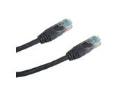 DATACOM Patch cord UTP CAT5E 1m černý