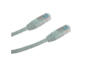 DATACOM Patch cord UTP CAT5E 1m šedý
