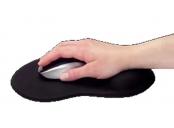 Ednet. - gelová podložka pod myš, černá 1kus