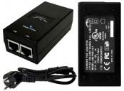 Ubiquiti POE-24, PoE adapter 24V/1A (24W), včetně napájecího kabelu