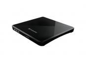 Transcend externí SLIM USB DVD vypalovací mechanika černá, CD-R/RW, DVD±R, DVD±RW, DVD±R DL, M-DISC, DVD-RAM