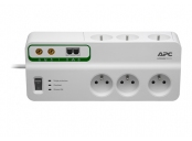 APC Home/Office SurgeArrest 6 Outlets with Phone and Coax Protection 230V Czech