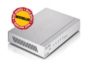 Zyxel GS-105B, 5-port 10/100/1000Mbps Gigabit Ethernet switch, desktop