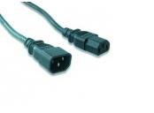 Kabel GEMBIRD síťový, prodlužovací, 1,8m VDE 220/230V napájecí