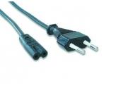 Kabel GEMBIRD síťový  1,8m VDE 220/230V napájecí notebook 2 pin