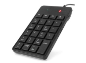 C-TECH klávesnice KBN-01, numerická, 23 kláves, USB slim black
