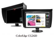 EIZO 24 CG2420-BK, IPS, 1920x1200, 400 cd/m2, 1500 : 1, DVI,HDMI,Disp.P, černý