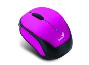 GENIUS Micro Traveler 9000R V3/ 1200 dpi/ bezdrátová/ dobíjecí/ černofialová