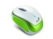 GENIUS Micro Traveler 9000R V3/ 1200 dpi/ bezdrátová/ dobíjecí/ bílozelená