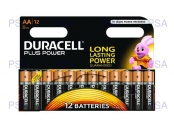 Duracell MN1500B12 Plus Power AA - 12 Pack
