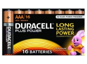 Duracell MN2400B16 Plus Power AAA - 16 Pack