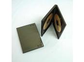 Krabička na 2DVD černá, tloušťka 15mm