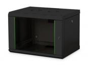 Digitus 7U nástěnná skříňka, Unique Series 420x600x450 mm, barva černá (RAL 9005)