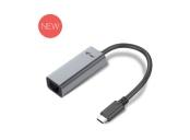 i-Tec USB-C METAL Gigabit Ethernet 10/100/1000 adaptér, LED, RJ45