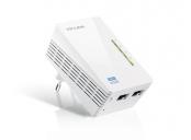 TP-Link Powerline extender TL-WPA4220 Adaptér WiFi 500Mbps, 2x RJ-45, WiFi clone