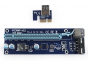 !! AKCE !! GEMBIRD PCI-Express riser add-on card