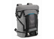 Acer PREDATOR GAMING ROLLTOP BACKPACK FOR 15 NBs GRAY n TEAL BLUE (RETAIL PACK)
