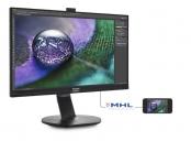 "Philips LCD 272P7VPTKEB 27"" W IPS LED / 3840x2160 / 1000:1 / 5ms / 350 cd / D-SUB / DP / HDMI / USB / Repro"