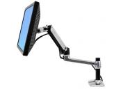 ERGOTRON LX Desk Mount Arm, Polished Aluminum, stolní rameno  max 32