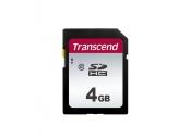 Transcend 4GB SDHC 300S (Class 10) paměťová karta