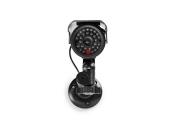 Nedis DUMCBS10BK - Atrapa Bezpečnostní Kamery | Válcové kamery | IP44 | Černá barva