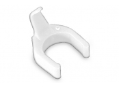 PatchSee cable clip color white, set= 50 clips