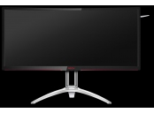AOC LCD AGON herní AG352UCG6 35 MVA G-Sync zakřivený/3440x1440@120Hz/4ms/50mil:1/HDMI/DP/2xUSB/repro/pivot/vesa
