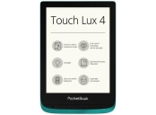 PocketBook 627 Touch Lux 4, Emerald, 6´´ E-ink 1024x758 LCD, WLAN b/g/n, 8GB/SD