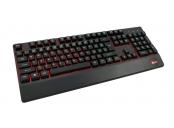 C-TECH klávesnice KB-104BK, USB, 3 barvy podsvícení, černá, CZ/SK