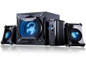GENIUS repro GX GAMING SW-G2.1 2000 v2, Reproduktory, herní, 2.1, 45W, černé, v2