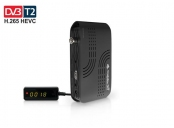 AB CryptoBox 702T mini HD DVB-T2/Full HD/ MPEG2/ MPEG4/ HEVC/ USB/ černý