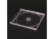 OBAL JEWEL CASE 1 CD OMEGA CLEAR 40730
