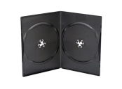 DVD BOX 7MM VIDEO ULTRA SLIM 2 BLACK MACHINE GRADE