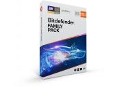Bitdefender Family pack 2020 pro domácnost na 1 rok BOX