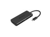Transcend HUB5C, USB-C (3.1 Gen 2) 6-in-1 Hub, 2 x USB-C/2x USB 3.1 Gen 1/SD/microSD, černý