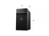 DELL Precision T3630/E-2146G/16GB/256GB SSD/1TB/5GB Quadro P2000/Win 10 Pro/3Y PS NBD