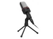 C-TECH Stolní mikrofon MIC-02, 3,5mm stereo jack, kabel 2.5m