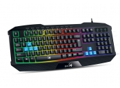 GENIUS GX GAMING Scorpion K215/ Herní drátová klávesnice/ podsvícená/ USB/ černá/ CZ+SK layout