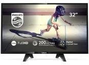 Philips 32PFS4132/12 LED FHD 32, Digital Crystal Clear, Black