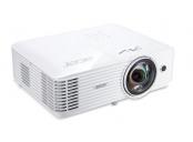 Acer S1386WHn DLP ShortThrow, WXGA 1280x800, 3600 ANSI, 20000:1, VGA, HDMI(MHL), RJ45, repro, 3,1Kg
