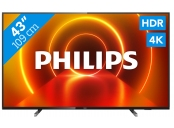 Philips 43PUS7805/12, 4K HDR LED, Smart TV, black