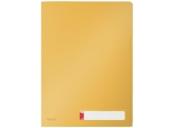 Třídící desky Leitz Cosy A4, neprůhledný PP, 3 ks, teplá žlutá