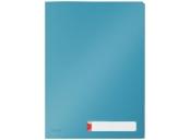 Třídící desky Leitz Cosy A4, neprůhledný PP, 3 ks, klidná modrá