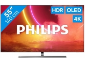 Philips 55 55OLED855 4K UHD OLED AndroidTV, 139cm, Ambilight 3stranný, HDR10+, Dolby Vision, HLG, P5 Perfect Picture