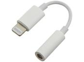 PremiumCord Apple Lightning audio redukční kabel na 3.5 mm stereo jack/female, bílý