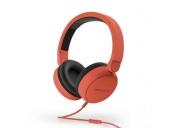 ENERGY Headphones Style 1 Talk Chili red