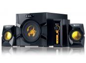 Genius GX GAMING SW-G2.1 3000 Ver. II, Reproduktory, herní, 2.1, 80W, černo-zlaté