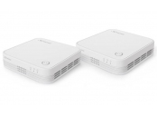 STRONG sada 2 Wi-Fi Mesh Home Kit 1200/ Wi-Fi 802.11a/b/g/n/ac/ 1200 Mbit/s/ 2,4GHz a 5GHz/ 3x LAN/ bílý