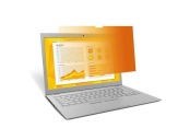 3M™ Gold Privacy Filter for 15.6 Laptop with COMPLY™ Attachment System (GF156W9B) 16:9